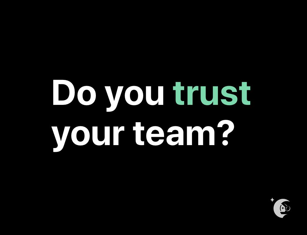 Building trust on hybrid teams