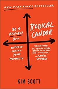 Radical Candor Book Cover