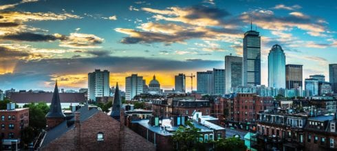 City landscape Boston
