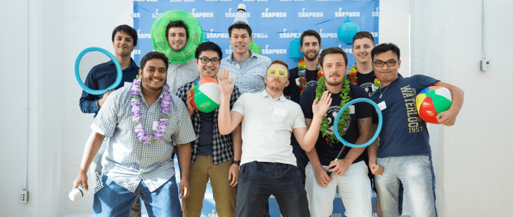 SoapBox development team photo