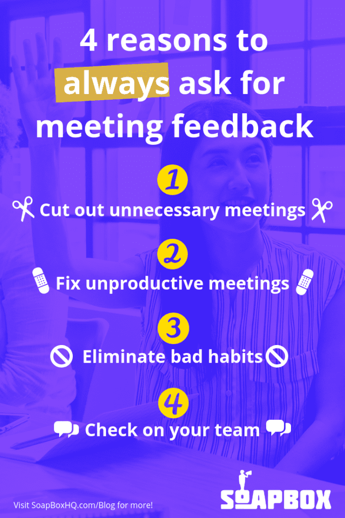 Why you should get meeting feedback