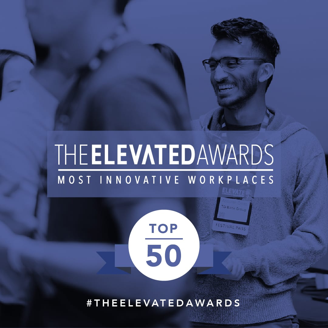 elevate awards most innovative workplace SoapBox