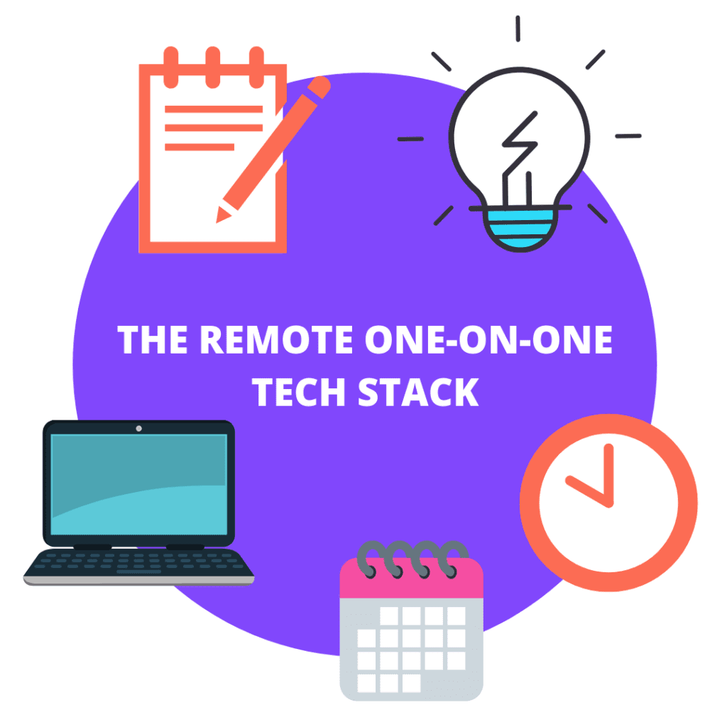 The remote one-on-one tech stack