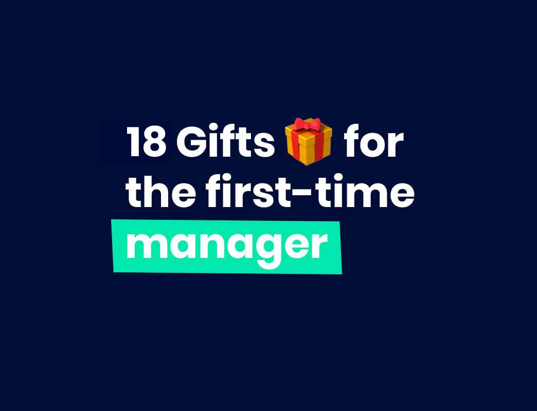 Gift guide for new managers