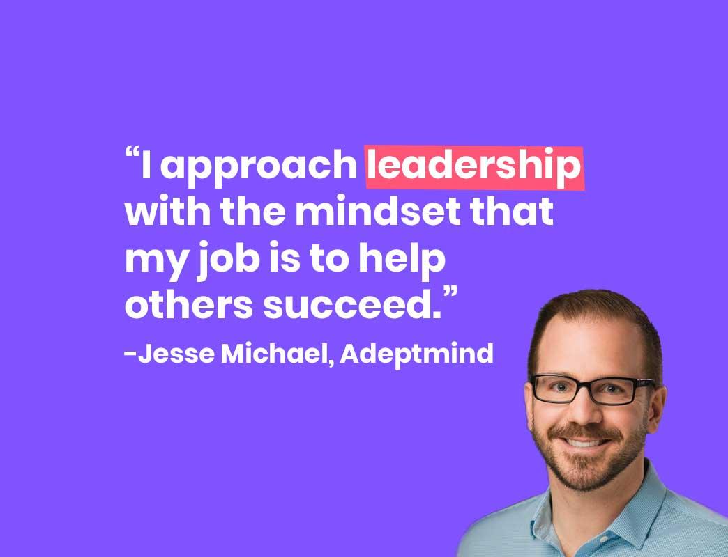 Jesse Michael Adeptmine One-on-ones