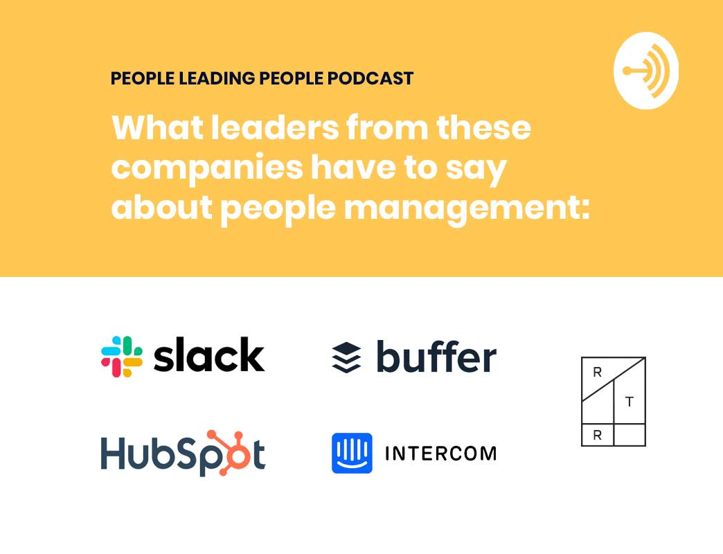 people leading people podcast lessons