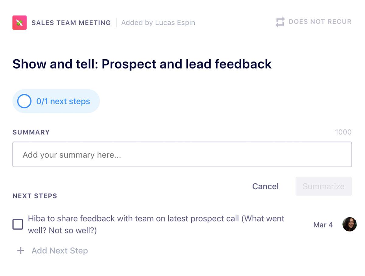 sales team accountability