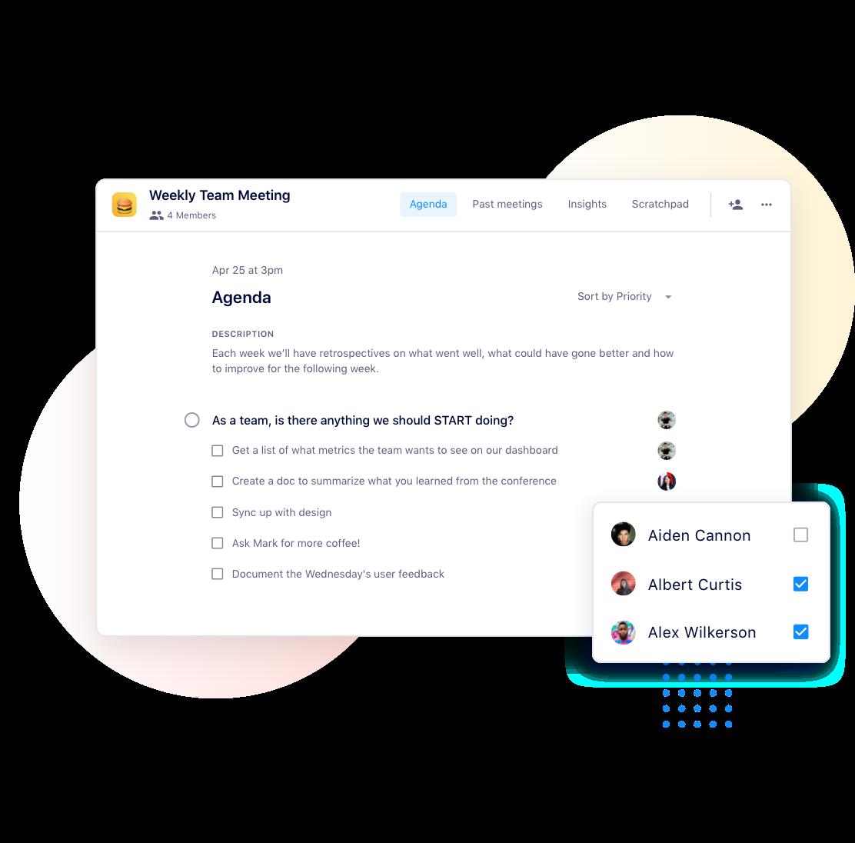 team meeting software