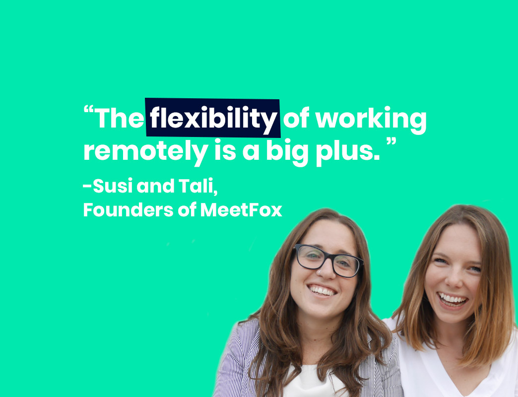 tali and susi, founders of MeetFox