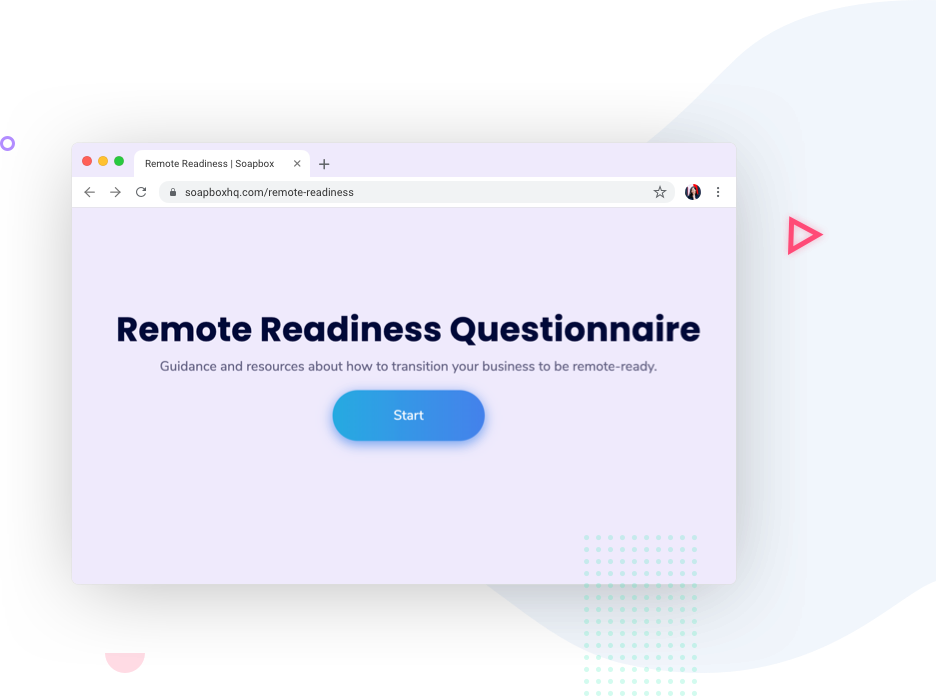 remote readiness questionnaire
