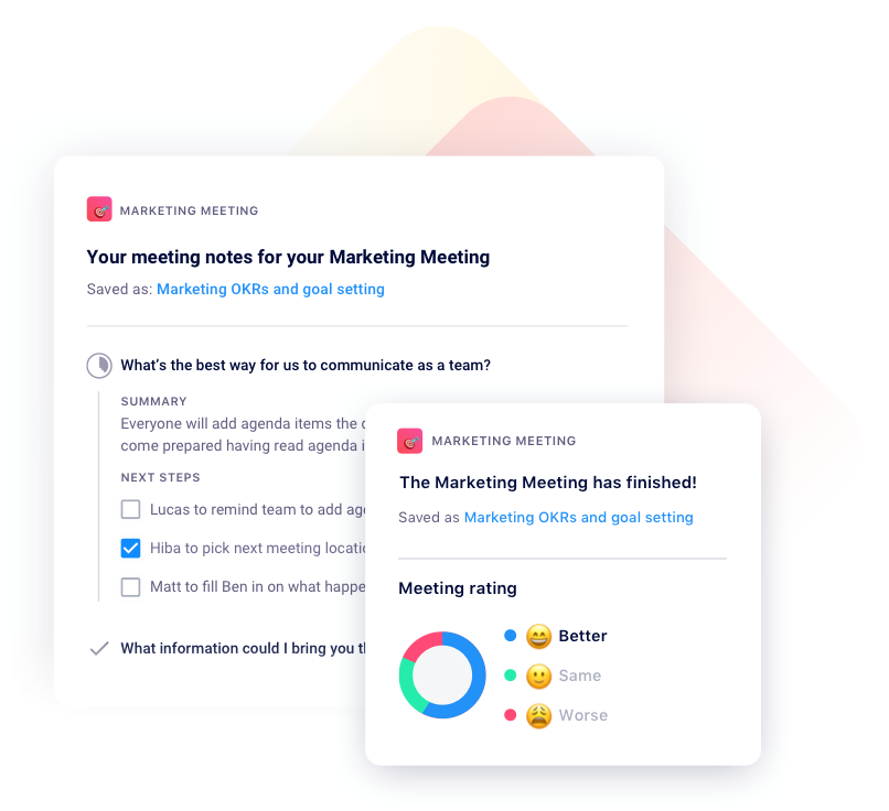 Soapbox meeting minutes and rating