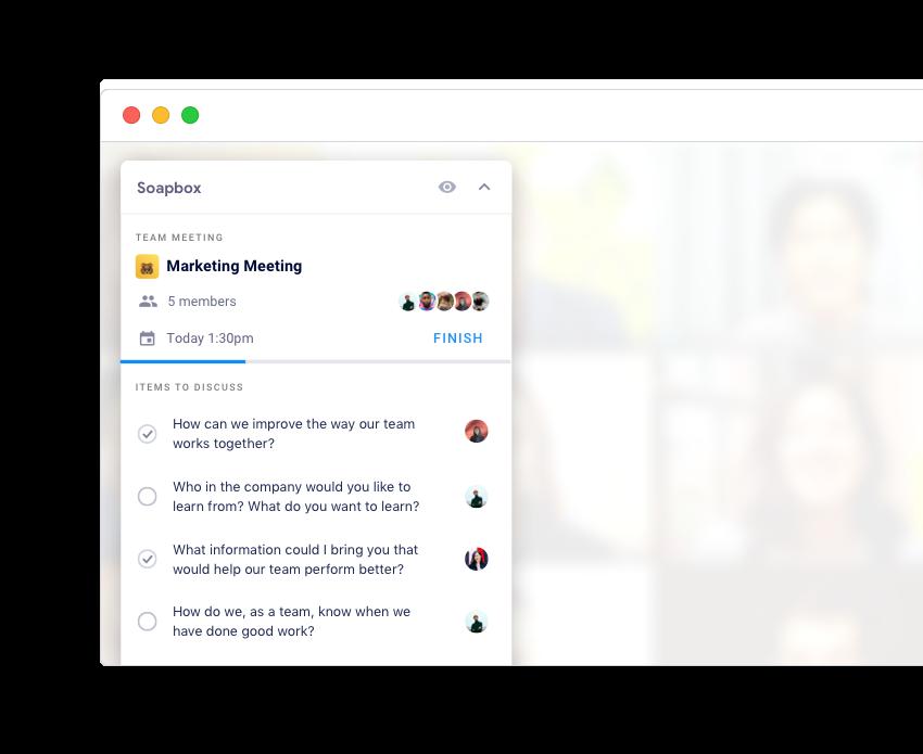 chrome extension google meet soapbox