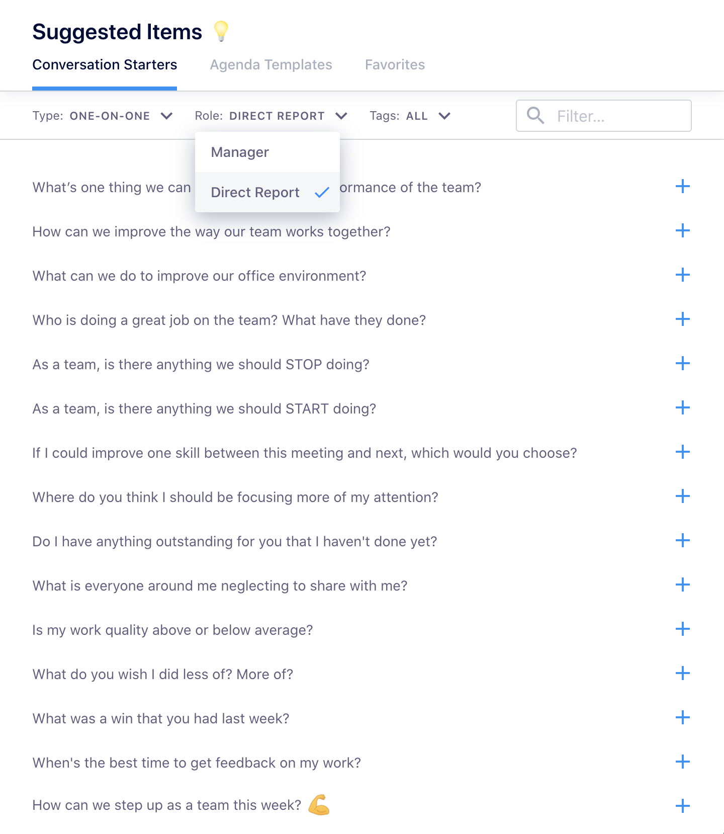 suggested questions soapbox