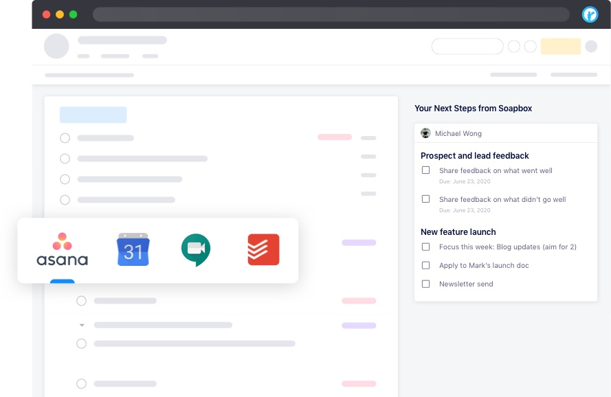 asana and todoist integration with soapbox chrome extension