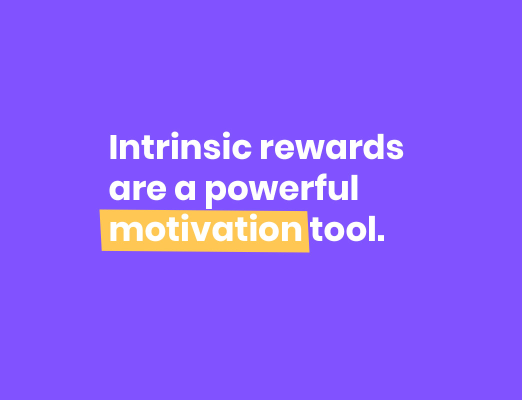 employee motivation intrinsic rewards