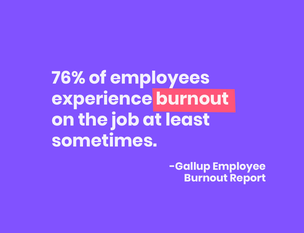 how to prevent employee burnout