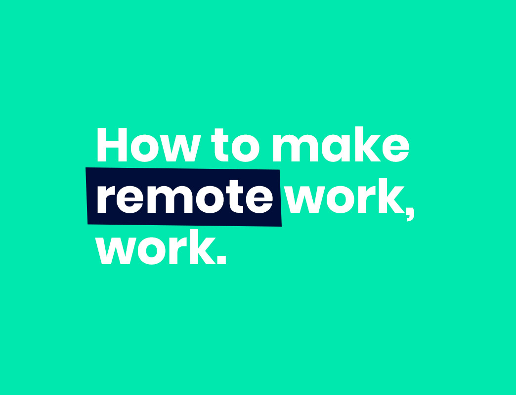 how to make the transition to remote work
