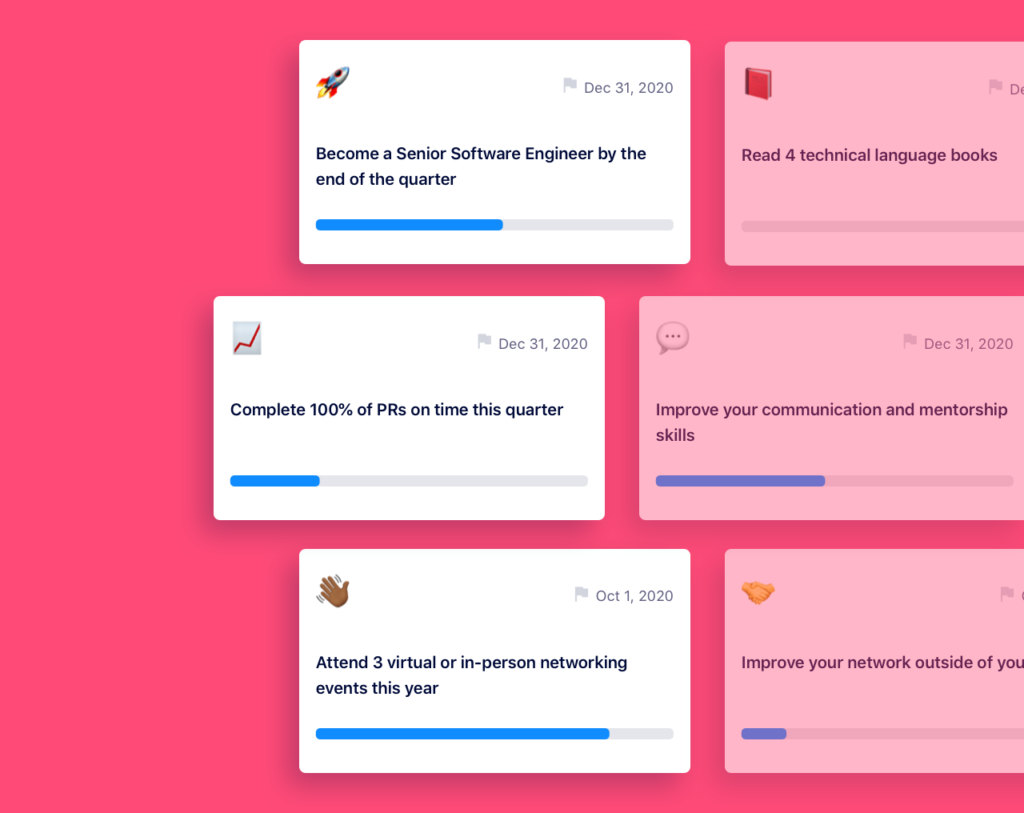 software engineering okr goal examples