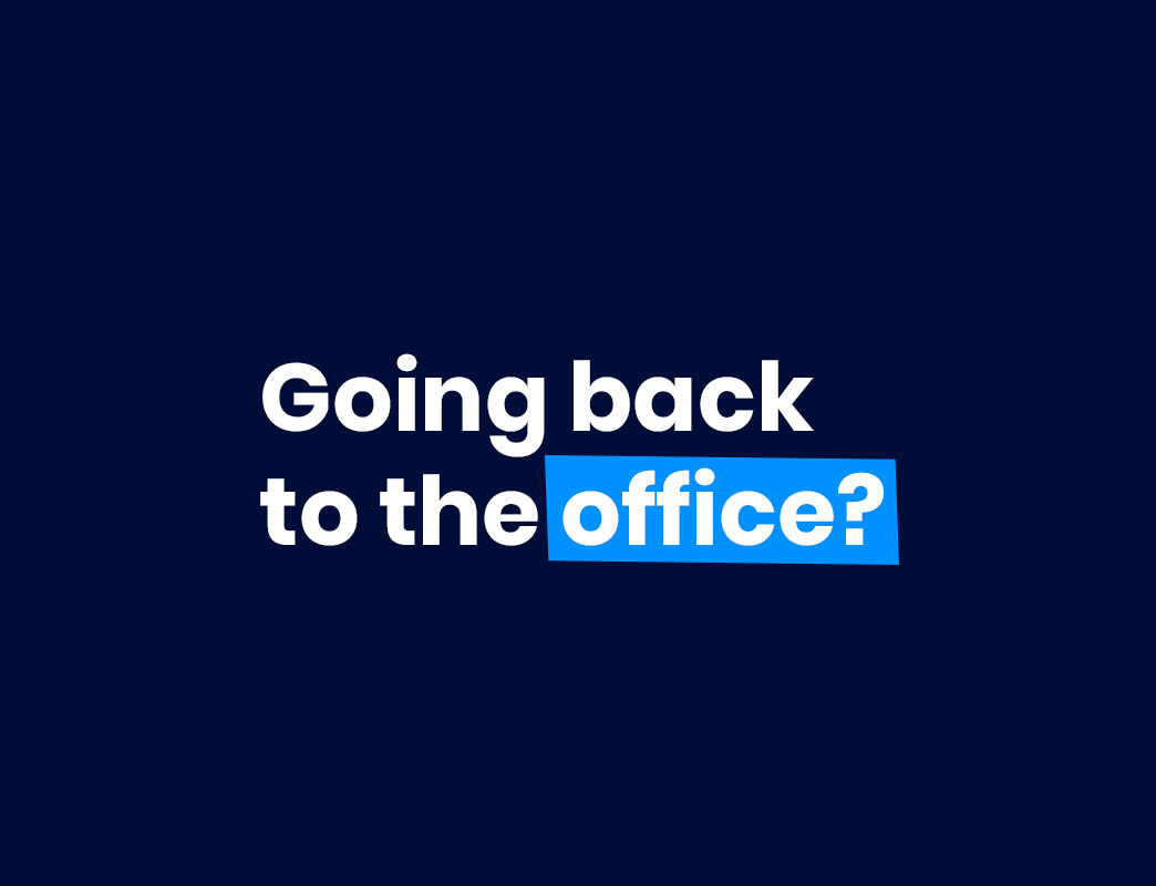 going back to the office?