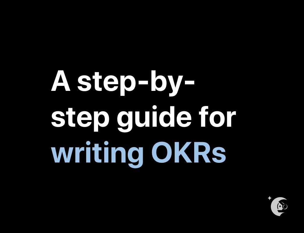 How to write OKRs