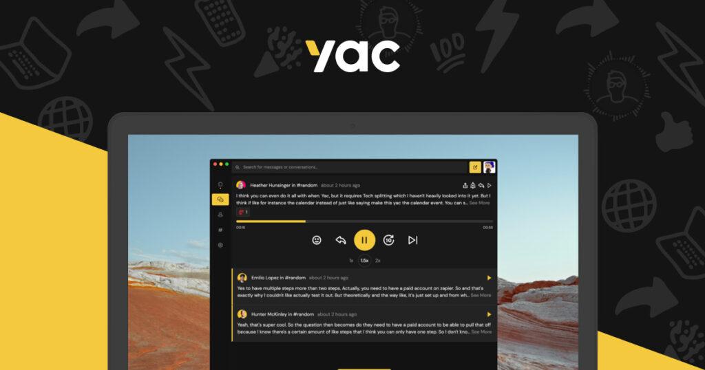 asynchronous communication tools- Yac